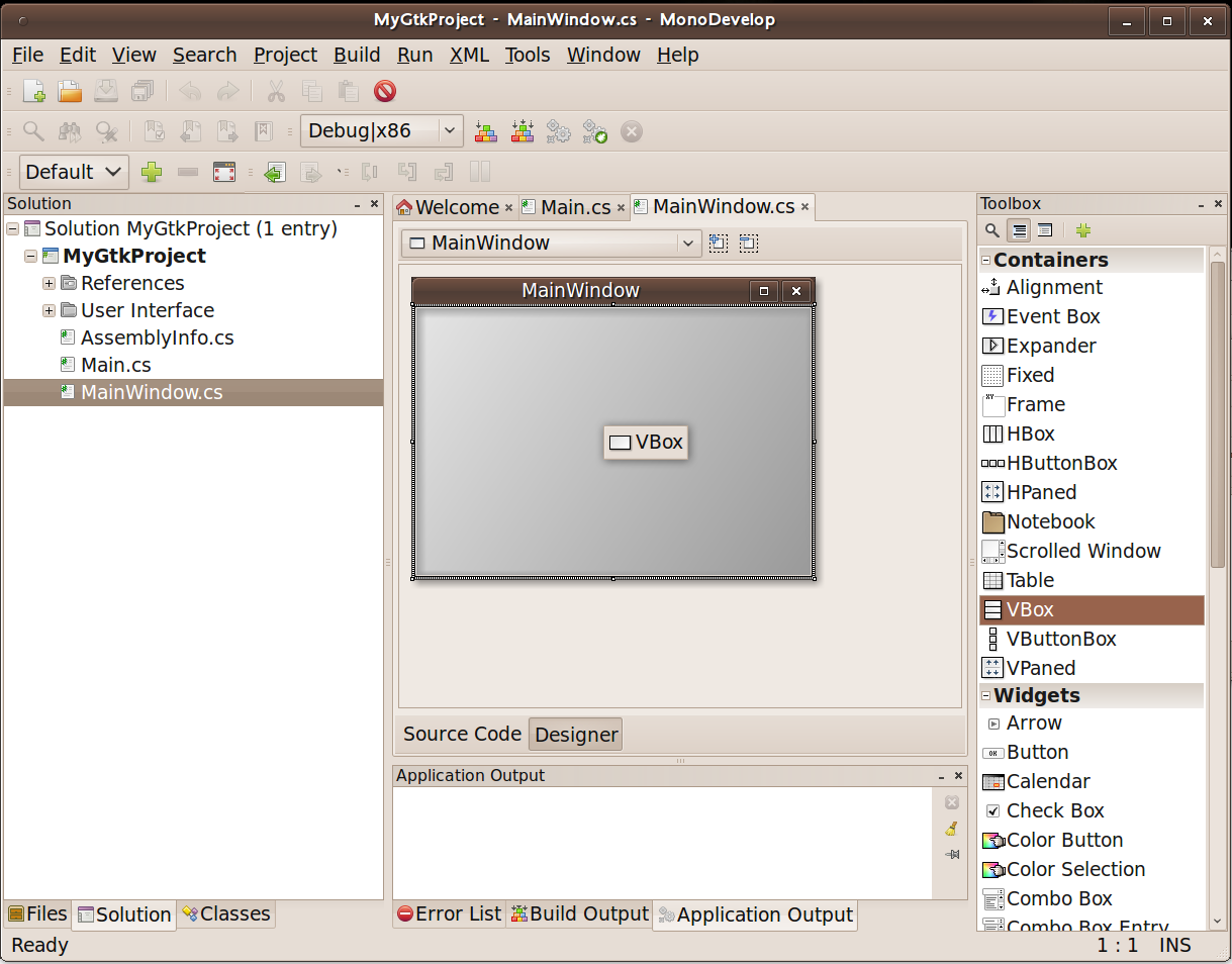Getting started with gtk♯ | The Pædantic Programmer
